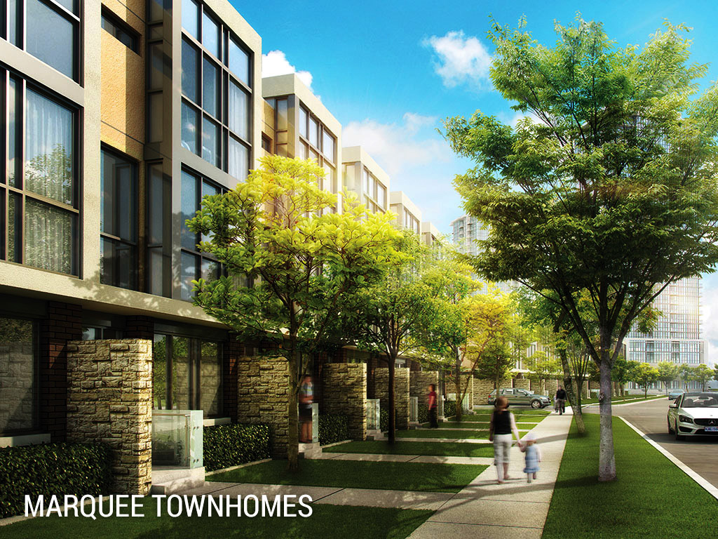 marquee townhomes Marquee Townhomes Mississauga marquee towns crystal condos outdoor