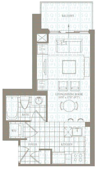 0-Bed-1-Bath-The-Lincoln-467-sqft chicago condo Chicago Condo 0 Bed 1 Bath The Lincoln 467 sqft