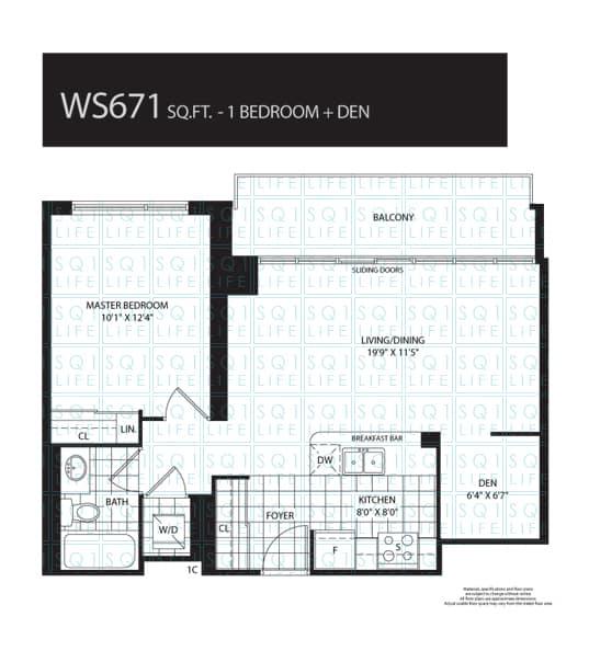 208-Enfield-Widesuites-Condo-Floorplan-WS671-1-Bed-1-Den-1-Bath widesuite condo Widesuite Condo 208 Enfield Widesuites Condo Floorplan WS671 1 Bed 1 Den 1 Bath