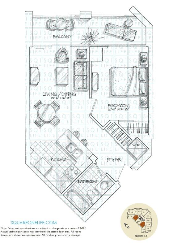 220-Forum-Dr-Tuscany-Gates-Condo-Floorplan-Murano-1-Bed-1-Bath tuscany gates condo Tuscany Gates Condo 220 Forum Dr Tuscany Gates Condo Floorplan Murano 1 Bed 1 Bath