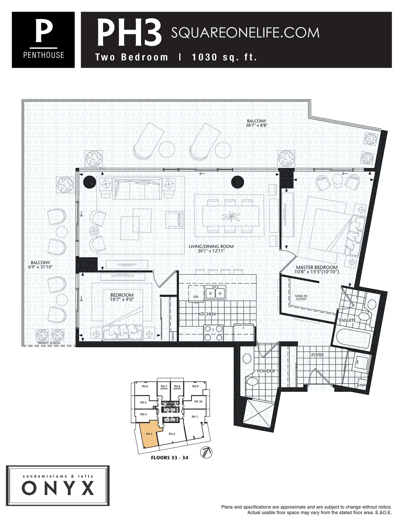 223-Webb-Dr-Onyx-Condo-Floorplan-PH3-2-Bed onyx condo Onyx Condo 223 Webb Dr Onyx Condo Floorplan PH3 2 Bed