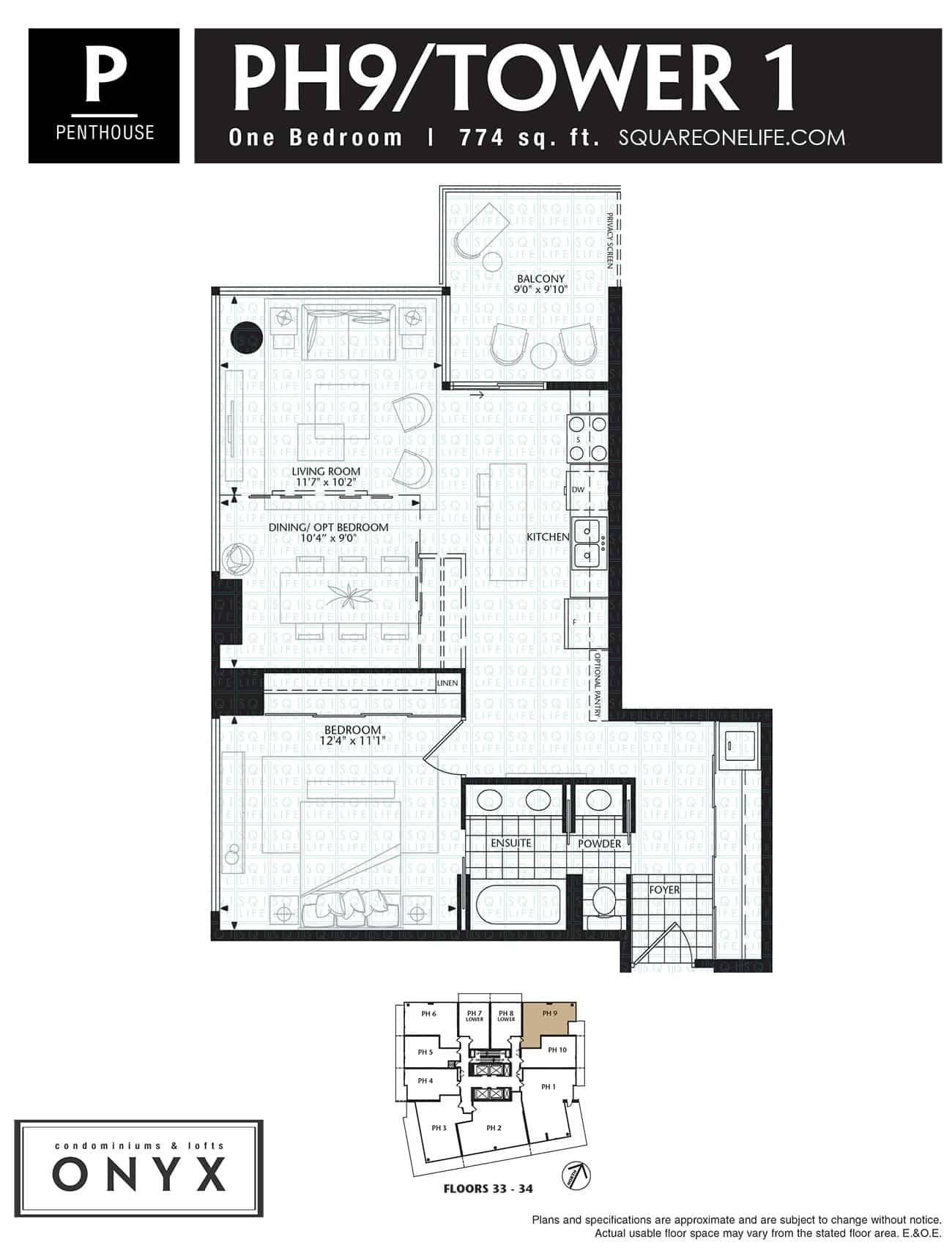 223-Webb-Dr-Onyx-Condo-Floorplan-PH9-1-Bed onyx condo Onyx Condo 223 Webb Dr Onyx Condo Floorplan PH9 1 Bed