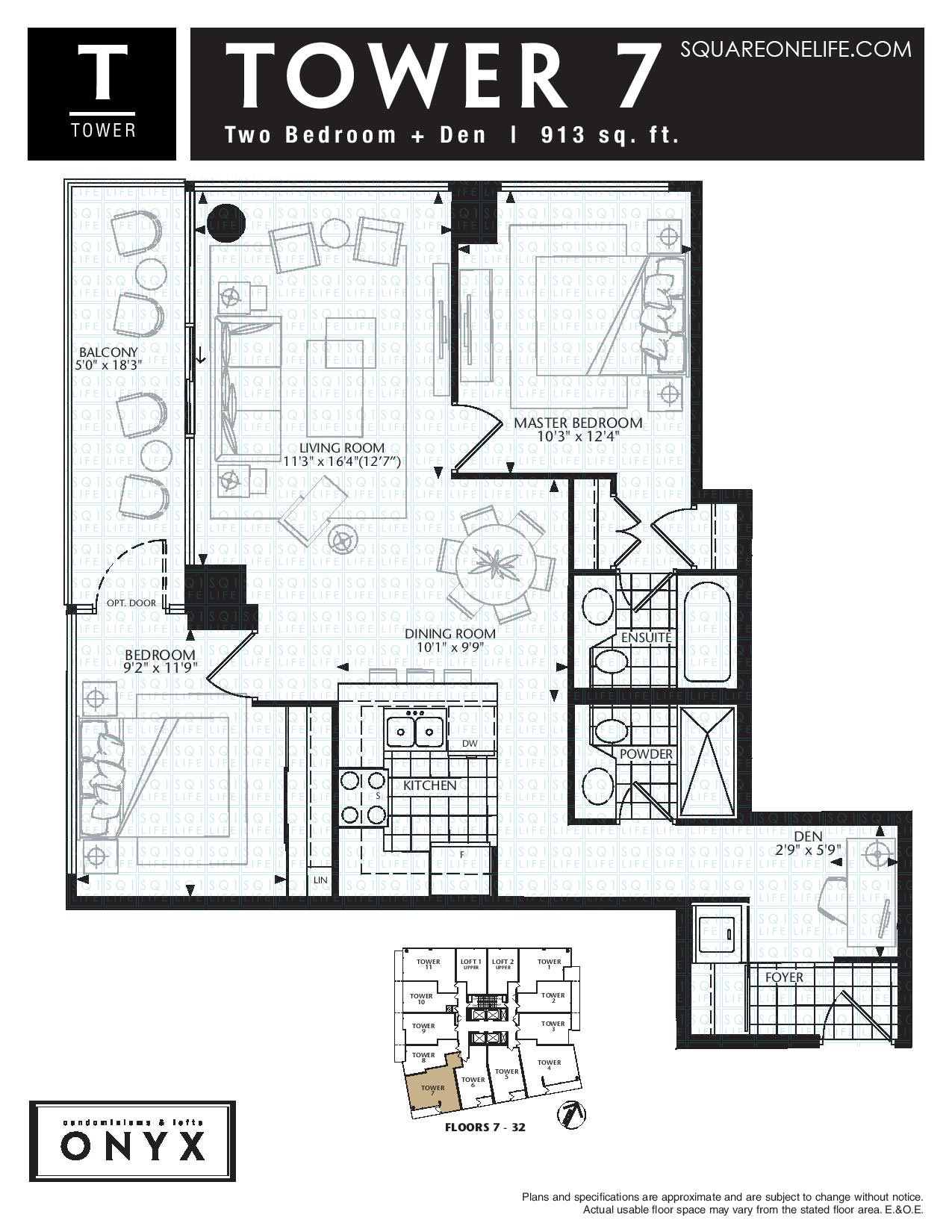 223-Webb-Dr-Onyx-Condo-Floorplan-Tower-7-2-Bed-1-Den-2-Bath onyx condo Onyx Condo 223 Webb Dr Onyx Condo Floorplan Tower 7 2 Bed 1 Den 2 Bath