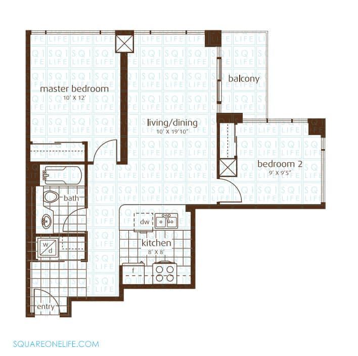 3525-Kariya-Dr-Elle-Condo-Floorplan-11-2-Bed-1-Bath elle condo Elle Condo 3525 Kariya Dr Elle Condo Floorplan 11 2 Bed 1 Bath