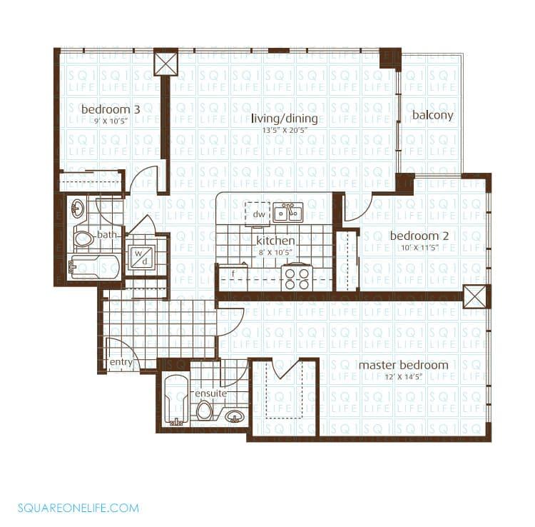3525-Kariya-Dr-Elle-Condo-Floorplan-17-3-Bed-2-Bath elle condo Elle Condo 3525 Kariya Dr Elle Condo Floorplan 17 3 Bed 2 Bath