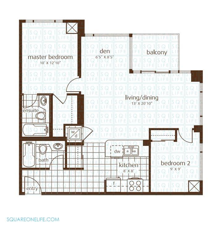 3525-Kariya-Dr-Elle-Condo-Floorplan-20-2-Bed-1-Den-2-Bath elle condo Elle Condo 3525 Kariya Dr Elle Condo Floorplan 20 2 Bed 1 Den 2 Bath