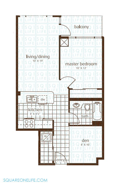 3525-Kariya-Dr-Elle-Condo-Floorplan-3-1-Bed-1-Den-1-Bath elle condo Elle Condo 3525 Kariya Dr Elle Condo Floorplan 3 1 Bed 1 Den 1 Bath
