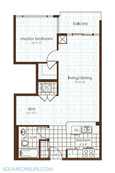 3525-Kariya-Dr-Elle-Condo-Floorplan-7-1-Bed-1-Den-1-Bath elle condo Elle Condo 3525 Kariya Dr Elle Condo Floorplan 7 1 Bed 1 Den 1 Bath