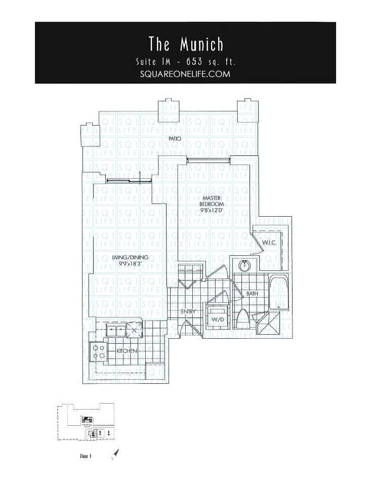 388-Prince-Of-Wales-Dr-One-Park-Tower-Condo-Floorplan-The-Munich-1-Bed-1-Bath one park tower One Park Tower Condo 388 Prince Of Wales Dr One Park Tower Condo Floorplan The Munich 1 Bed 1 Bath