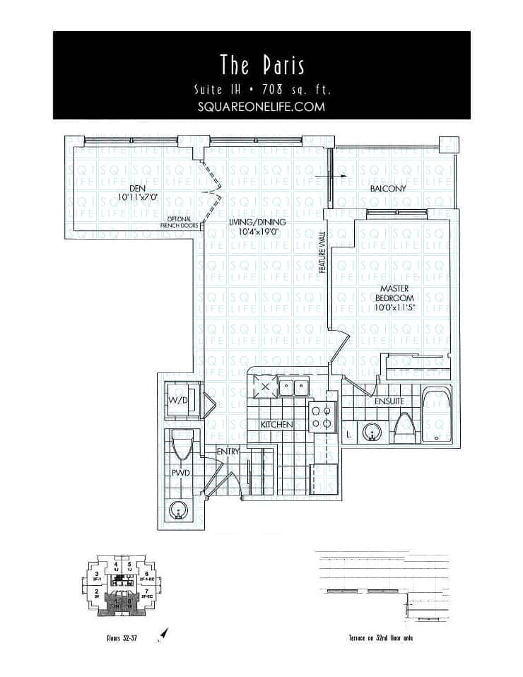 388-Prince-Of-Wales-Dr-One-Park-Tower-Condo-Floorplan-The-Paris-1-Bed-1-Den-2-Bath one park tower One Park Tower Condo 388 Prince Of Wales Dr One Park Tower Condo Floorplan The Paris 1 Bed 1 Den 2 Bath