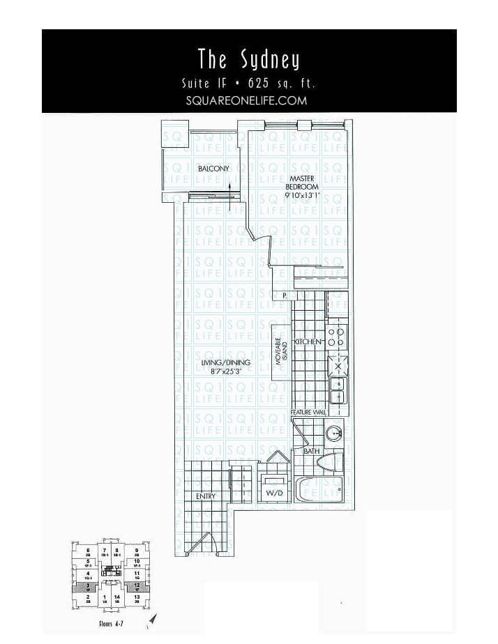 388-Prince-Of-Wales-Dr-One-Park-Tower-Condo-Floorplan-The-Sydney-1-Bed-1-Bath one park tower One Park Tower Condo 388 Prince Of Wales Dr One Park Tower Condo Floorplan The Sydney 1 Bed 1 Bath