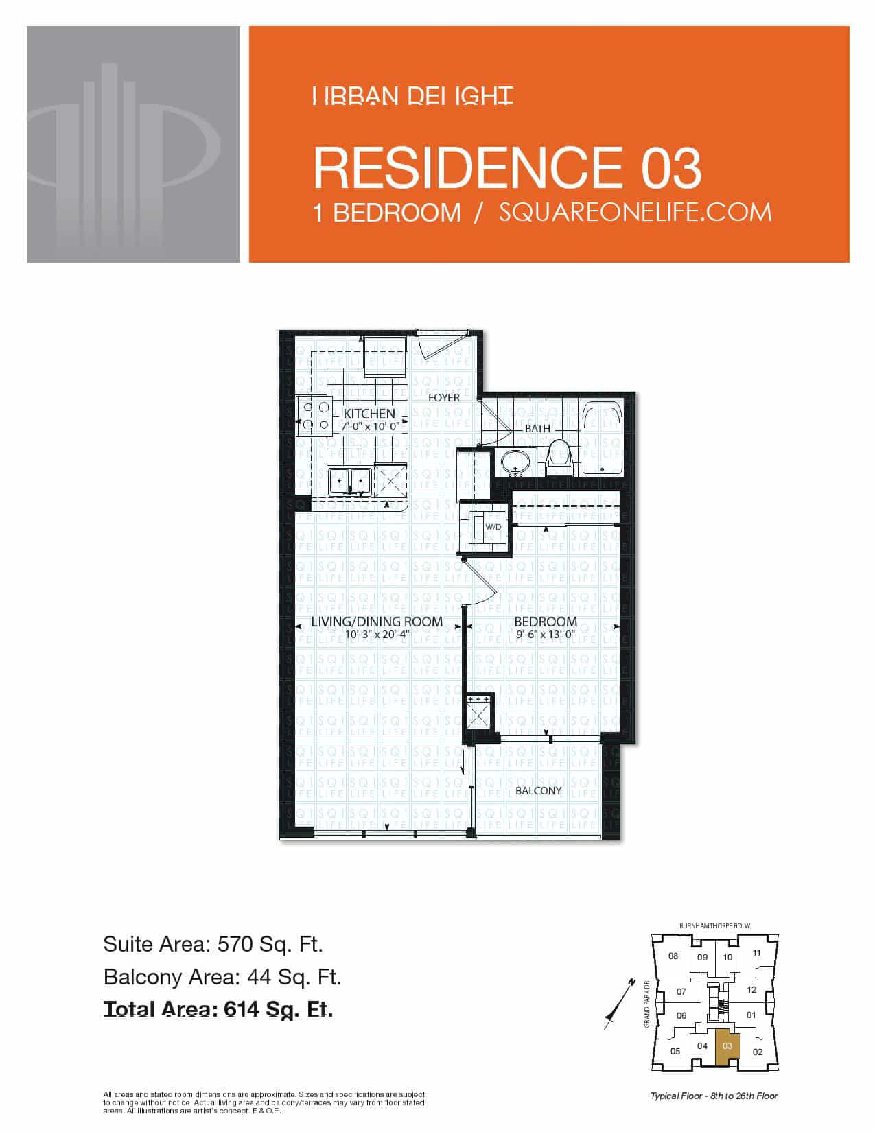 Grand-Park-Condo-3985-Grand-Park-Dr-Floorplan-Residence-3-1-Bed-1-Bath pinnacle grand park condo Pinnacle Grand Park Condo Grand Park Condo 3985 Grand Park Dr Floorplan Residence 3 1 Bed 1 Bath