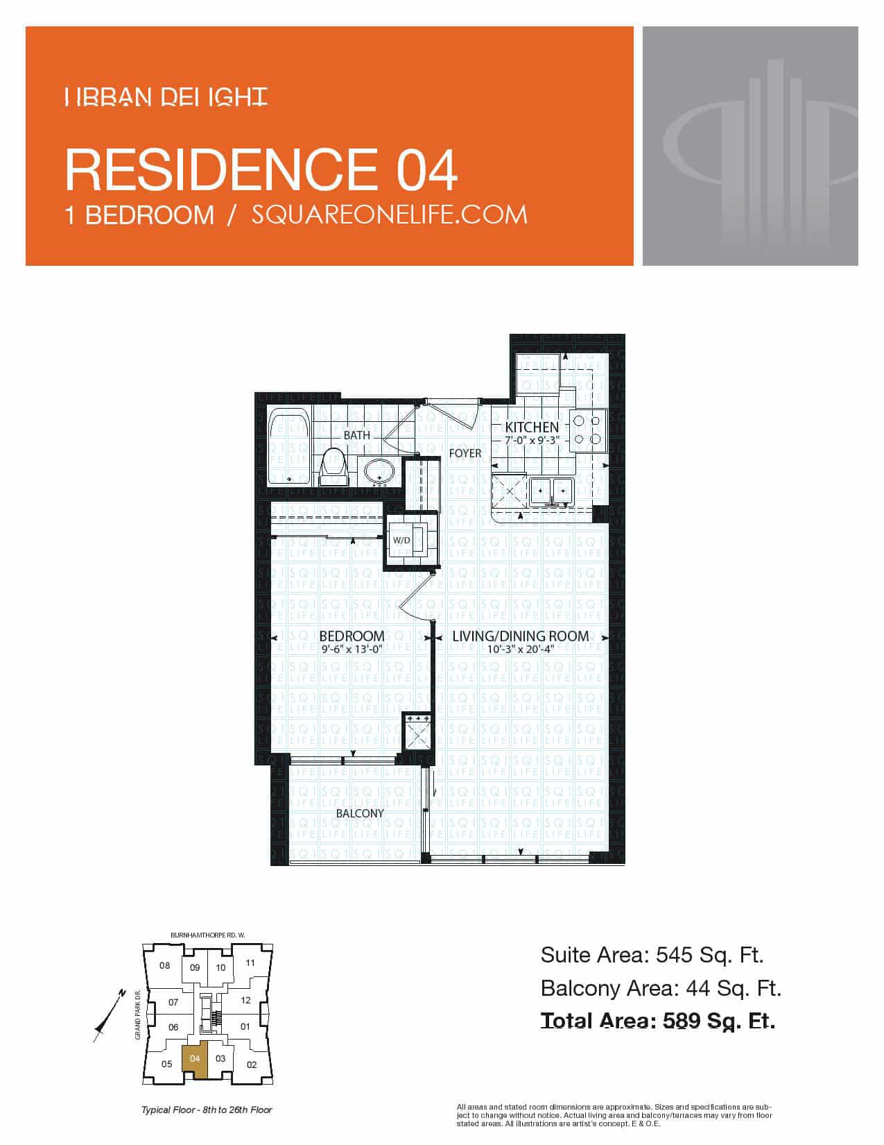 Grand-Park-Condo-3985-Grand-Park-Dr-Floorplan-Residence-4-1-Bed-1-Bath pinnacle grand park condo Pinnacle Grand Park Condo Grand Park Condo 3985 Grand Park Dr Floorplan Residence 4 1 Bed 1 Bath