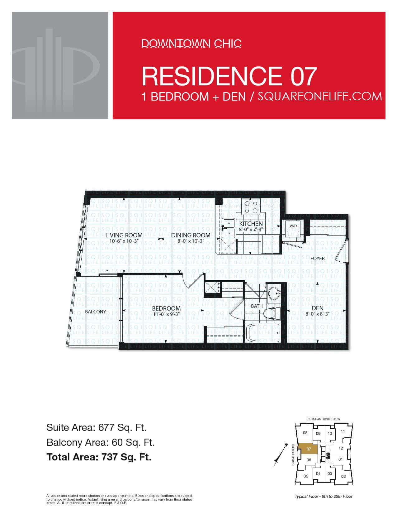 Grand-Park-Condo-3985-Grand-Park-Dr-Floorplan-Residence-7-1-Bed-1-Den-1-Bath pinnacle grand park condo Pinnacle Grand Park Condo Grand Park Condo 3985 Grand Park Dr Floorplan Residence 7 1 Bed 1 Den 1 Bath