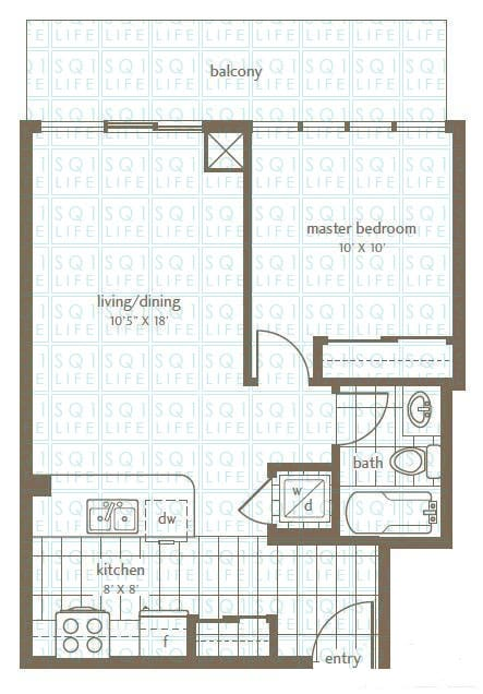 Grand Residences Condo Floorplan 1 - 1 Bed - 1 Bath grand residences condo Grand Residences Condo Grand Residences Condo Floorplan 1 1 Bed 1 Bath