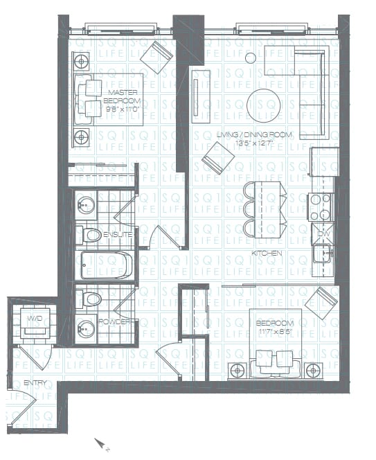 Limelight-Condo-365-Prince-Of-Wales-360-Square-One-Dr-Floorplan-Jade-2-Bed-2-Bath limelight condos Limelight Condos Limelight Condo 365 Prince Of Wales 360 Square One Dr Floorplan Jade 2 Bed 2 Bath