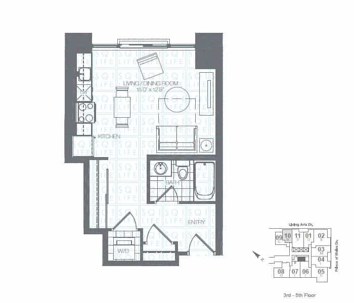 Limelight-Condo-365-Prince-Of-Wales-360-Square-One-Dr-Floorplan-Teal-0-Bed-1-Bath limelight condos Limelight Condos Limelight Condo 365 Prince Of Wales 360 Square One Dr Floorplan Teal 0 Bed 1 Bath