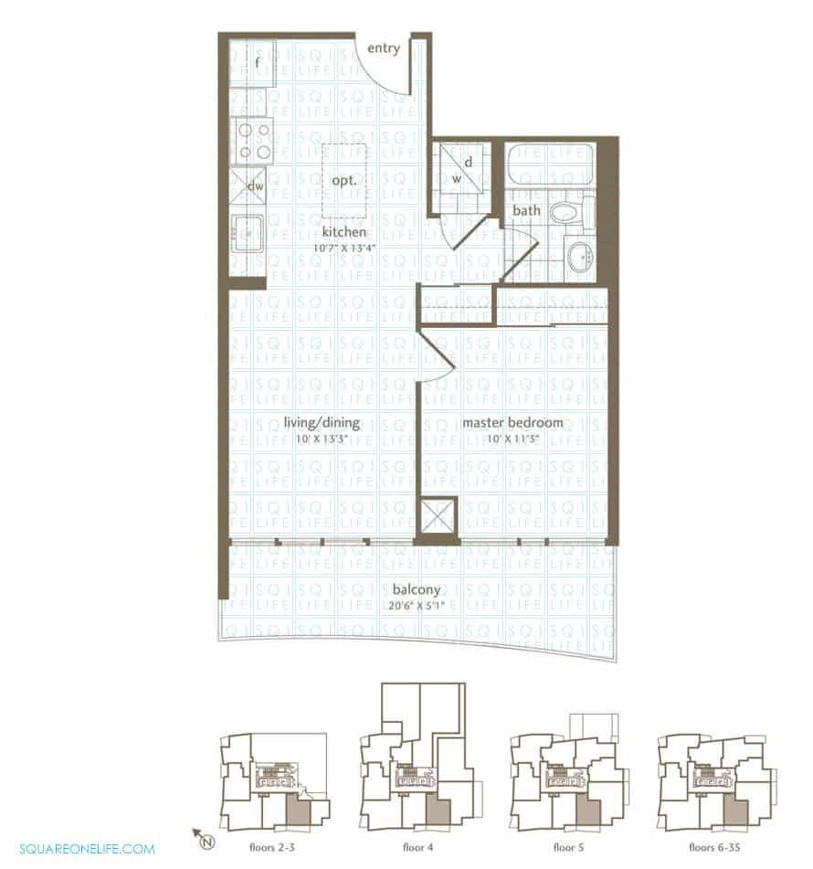 Park-Residences-Condo-Floorplan-Cardinal-1-Bed-1-Den-1-Bath park residences condo Park Residences Condo Park Residences Condo Floorplan Cardinal 1 Bed 1 Den 1 Bath