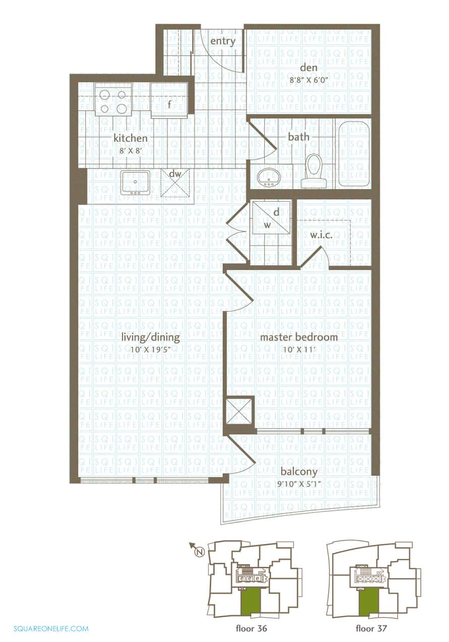 Park-Residences-Condo-Floorplan-LPH5-PH5-1-Bed-1-Den-1-Bath park residences condo Park Residences Condo Park Residences Condo Floorplan LPH5 PH5 1 Bed 1 Den 1 Bath