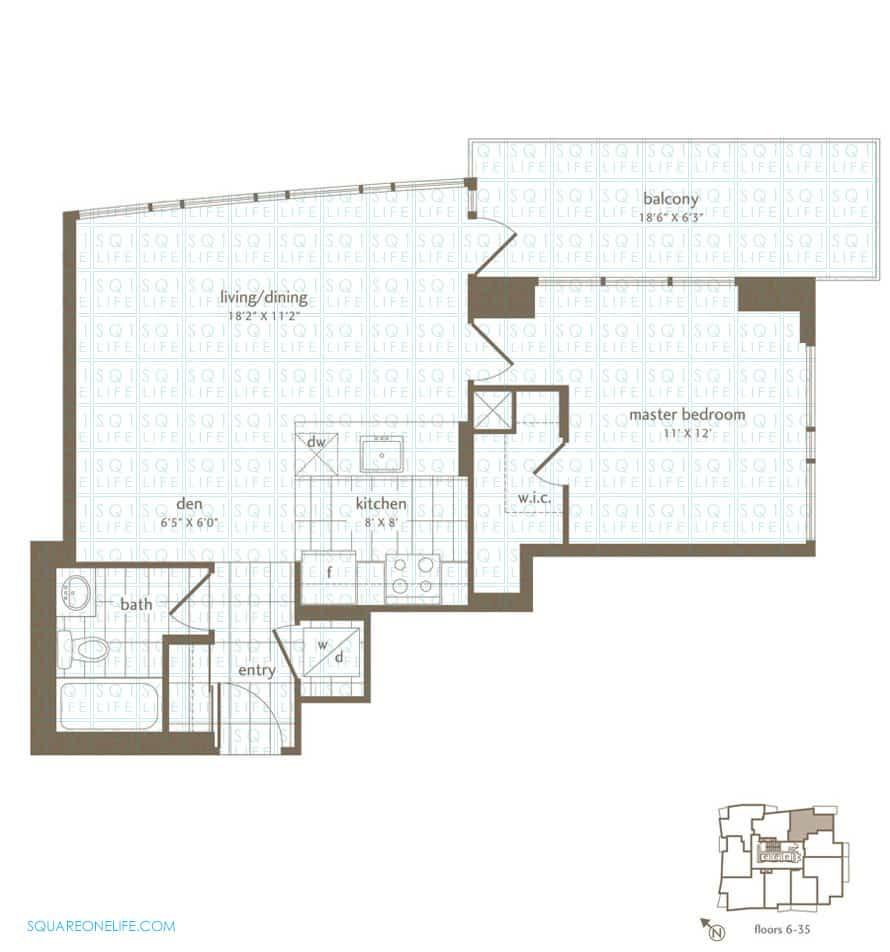 Park-Residences-Condo-Floorplan-Oak-1-Bed-1-Den-1-Bath park residences condo Park Residences Condo Park Residences Condo Floorplan Oak 1 Bed 1 Den 1 Bath