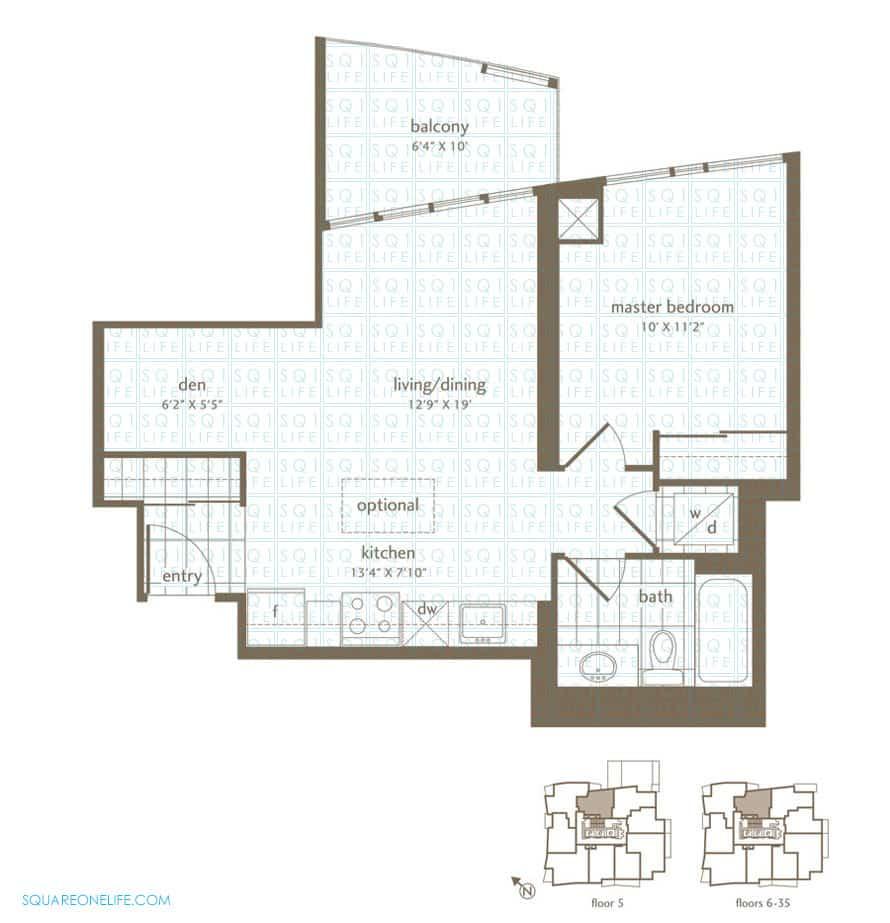 Park-Residences-Condo-Floorplan-Tulip-1-Bed-1-Bath park residences condo Park Residences Condo Park Residences Condo Floorplan Tulip 1 Bed 1 Bath