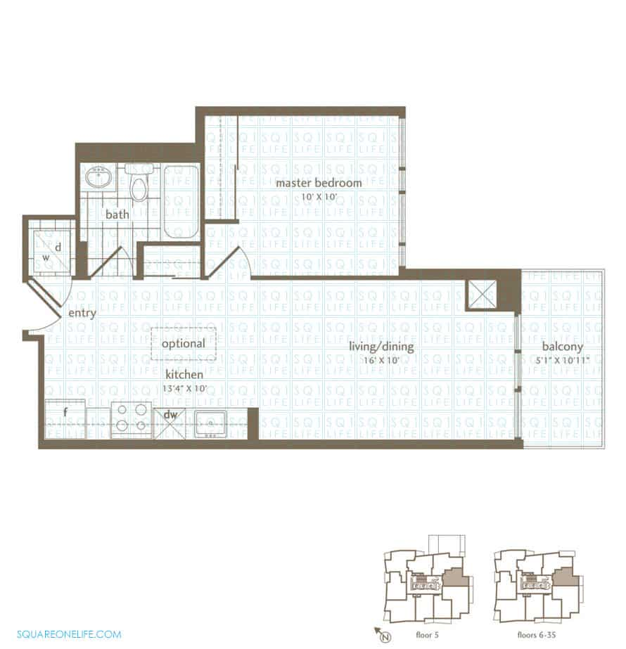 Park-Residences-Condo-Floorplan-Walnut-1-Bed-1-Bath park residences condo Park Residences Condo Park Residences Condo Floorplan Walnut 1 Bed 1 Bath