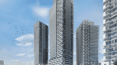 6 New Towers At Hurontario and Eglinton Mississauga square one condos Square One Condos | Home 91 131 eglinton ave east mississauga condos 400x225