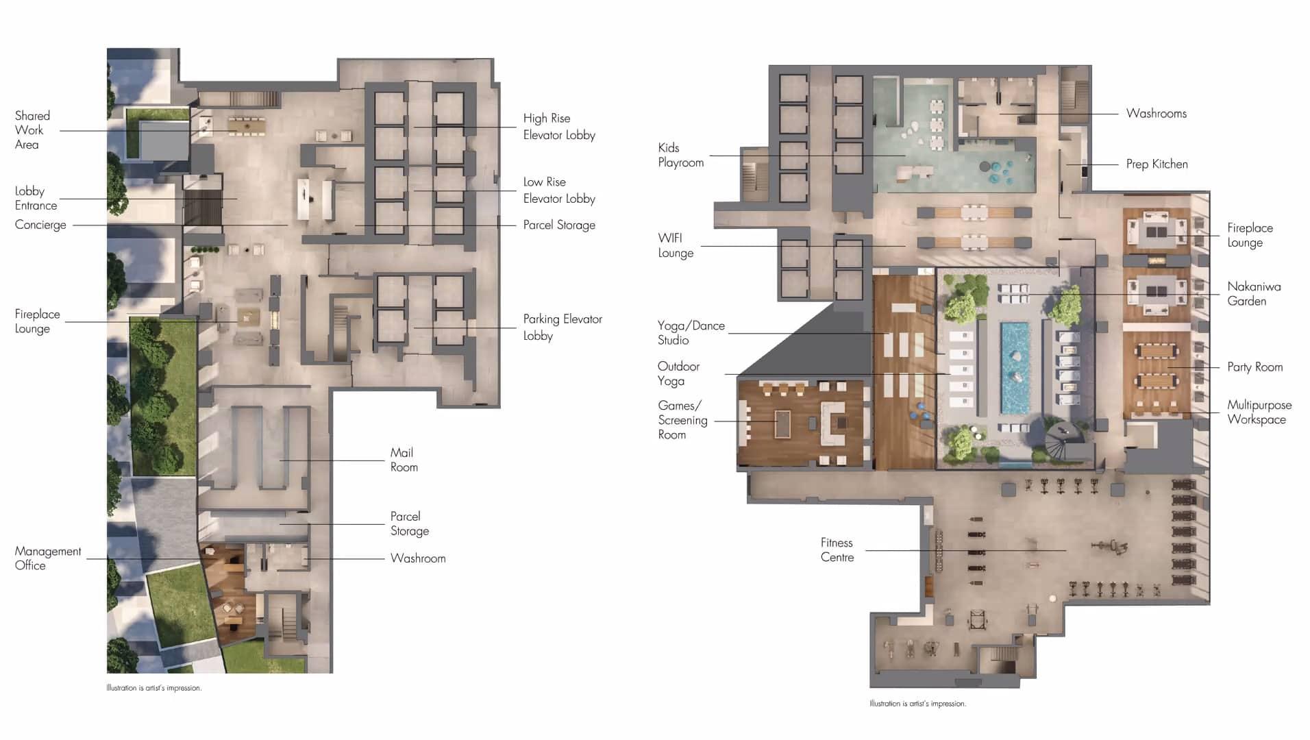 M4 Condos at M CITY Mississauga m4 condos for sale mississauga square one indoor amenities