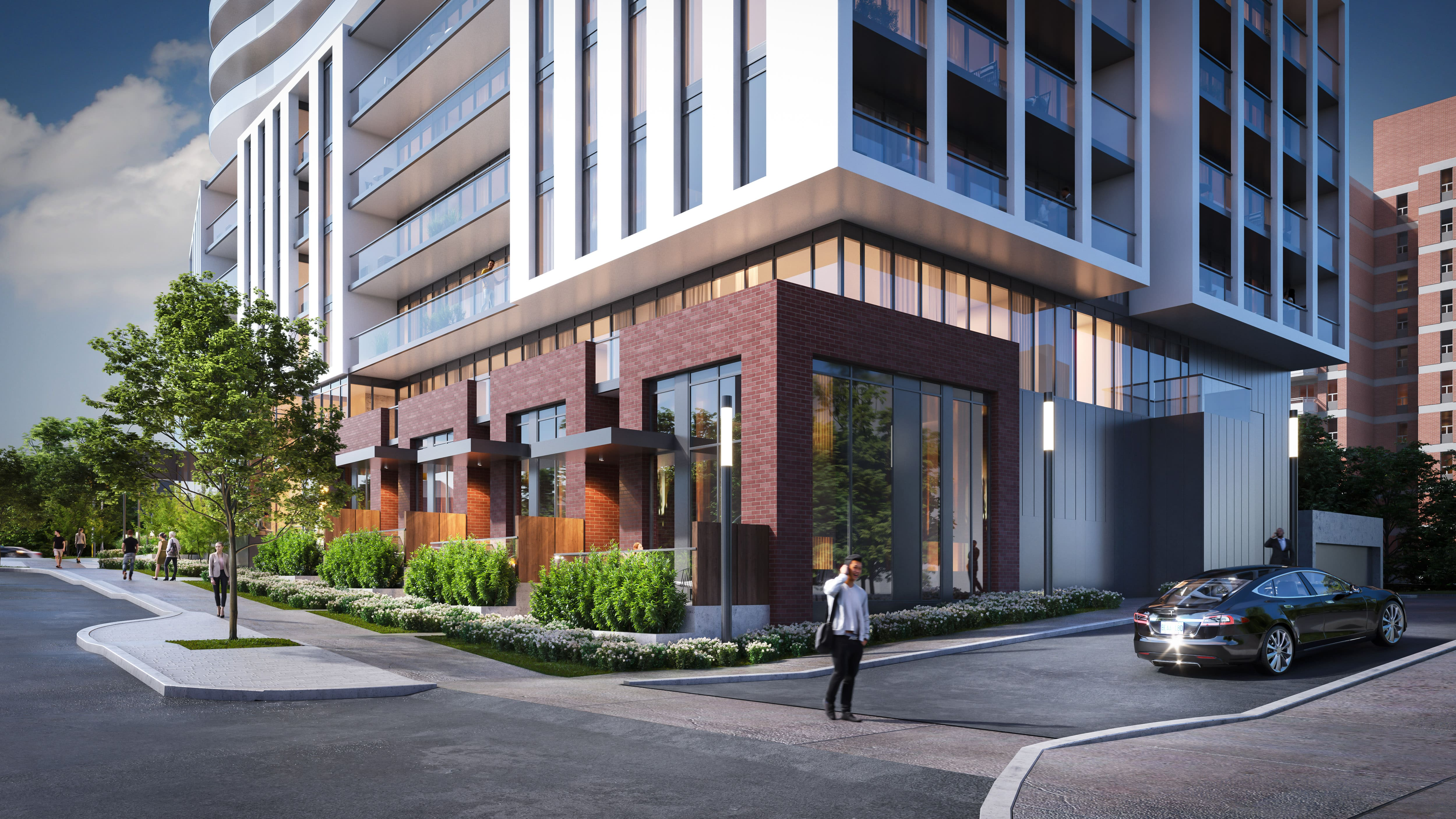 Alba Condos in Downtown Mississauga alba condos for sale 1 fairview rd e mississauga downtown