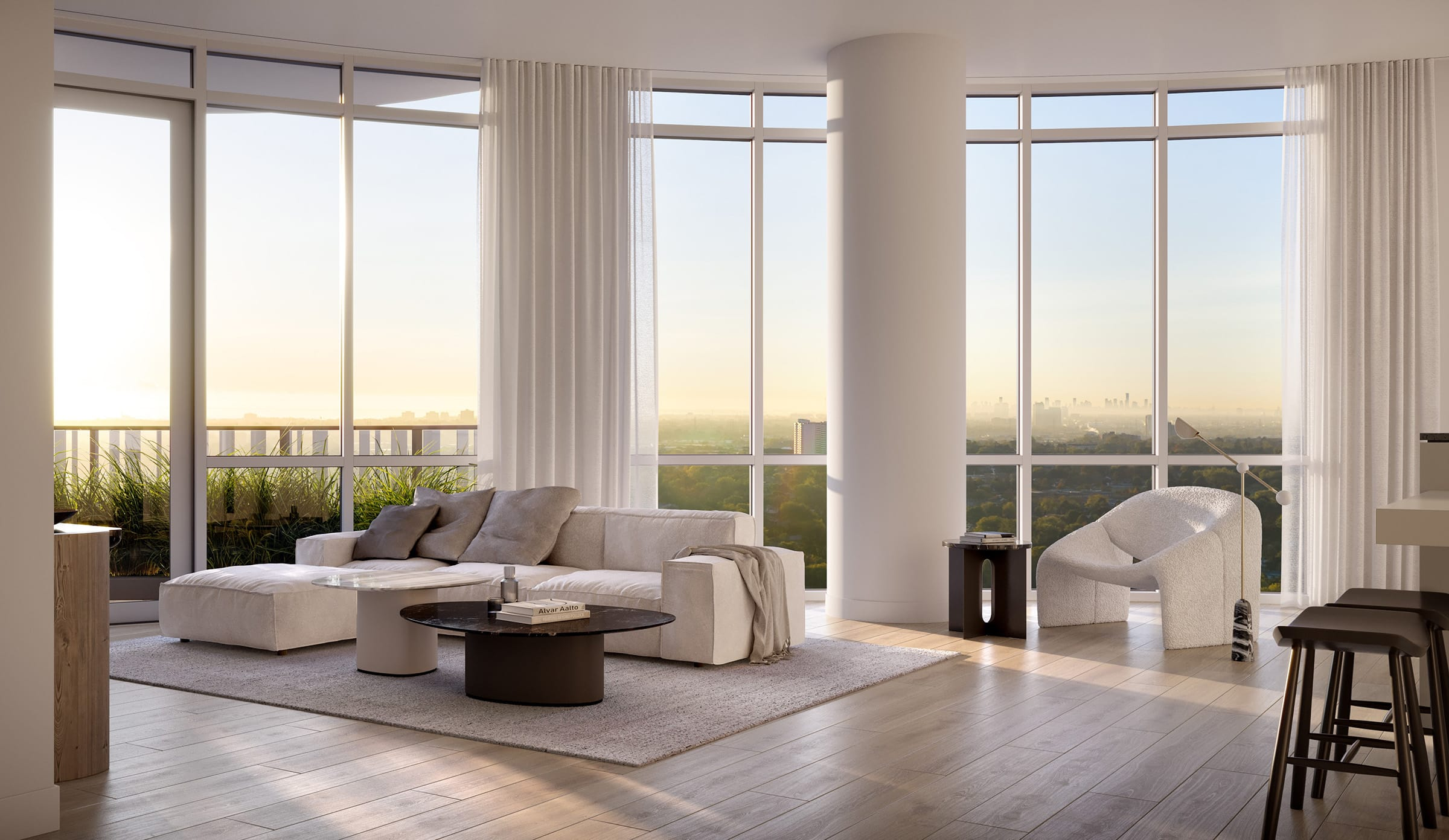 [object object] Downtown Mississauga New Condos For Sale alba condos 1 fairview rd e mississauga hurontario lrt living room
