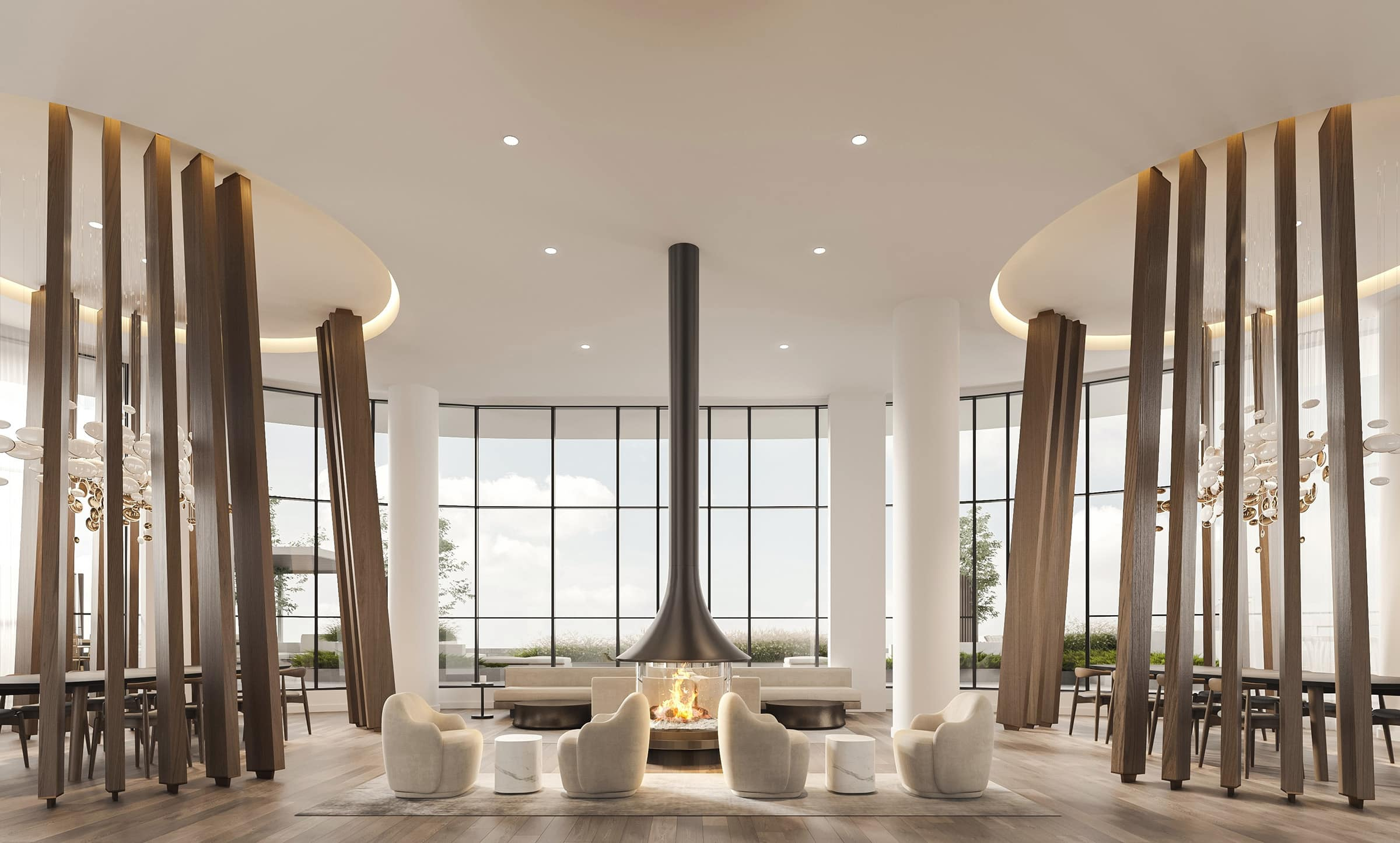 [object object] Downtown Mississauga New Condos For Sale alba condos 1 fairview rd e mississauga hurontario lrt party room lounge