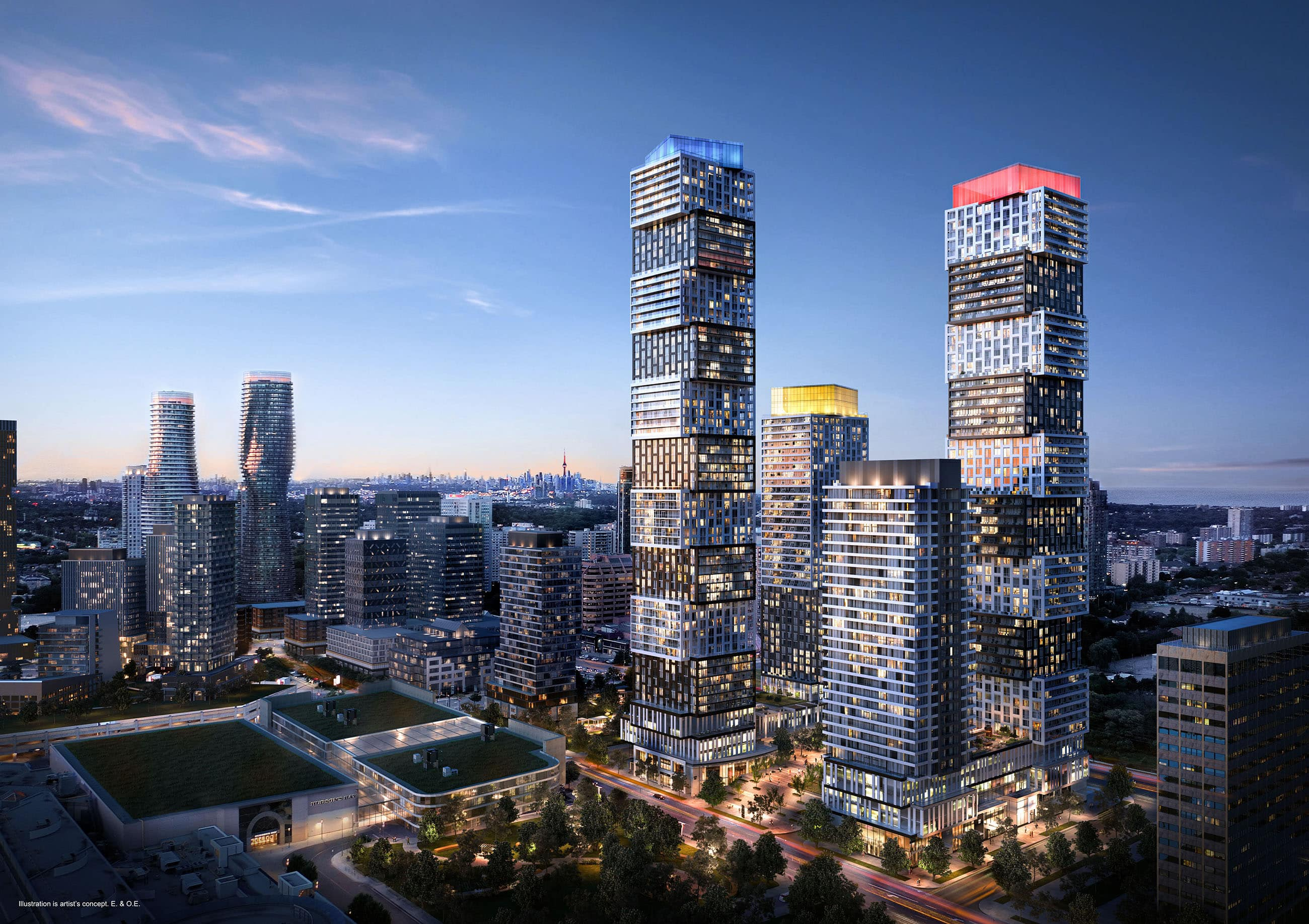[object object] Downtown Mississauga New Condos For Sale new downtown mississauga condos exchange district ex3